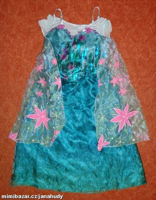 2aec26f99a28 Prodám - Kostým Šaty Léto Frozen DISNEY vel. 5 6 let.
