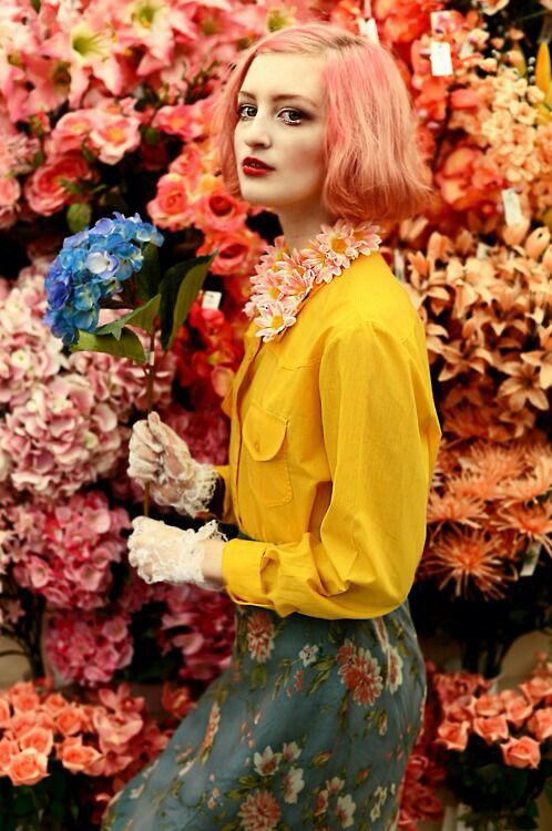 Yellow, pinks and warm colours #aesthetic #pink #yellow