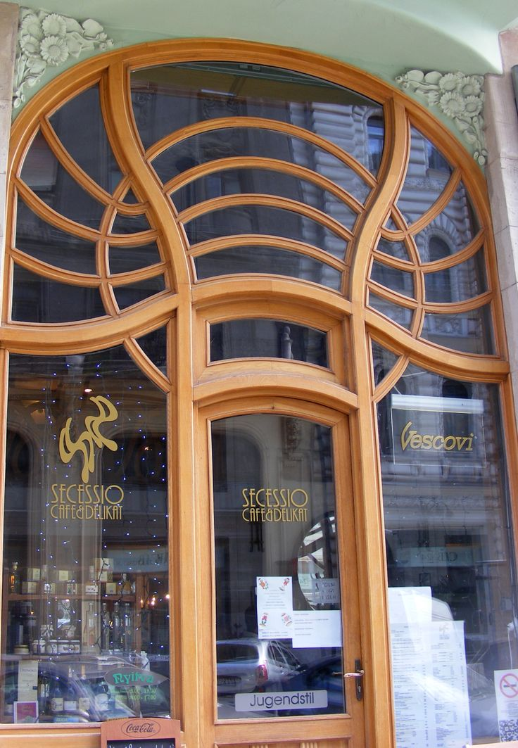 Entrance of the House of Hungarian Art Nuoveau