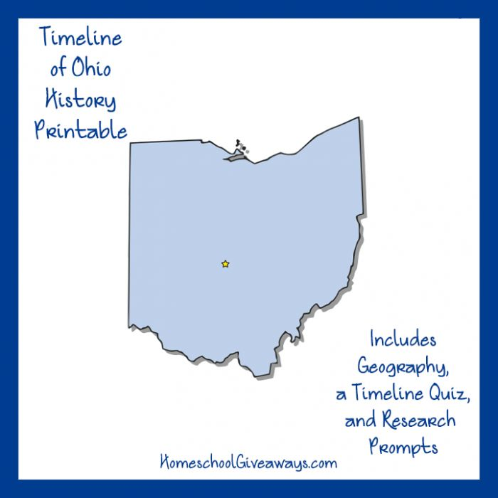 10 best real world learning images on pinterest homeschool timeline worksheet march ohio becomes a state take a closer look at the history of ohio and see what you can discover about this state with a free state fandeluxe Choice Image
