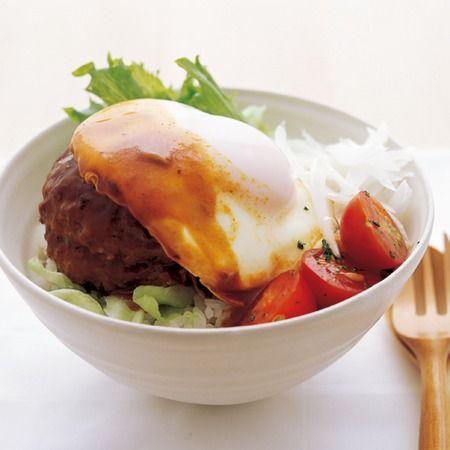 フライパン1つでロコモコ丼!by 井澤由美子 / 井澤先生は丼物系強いので…
