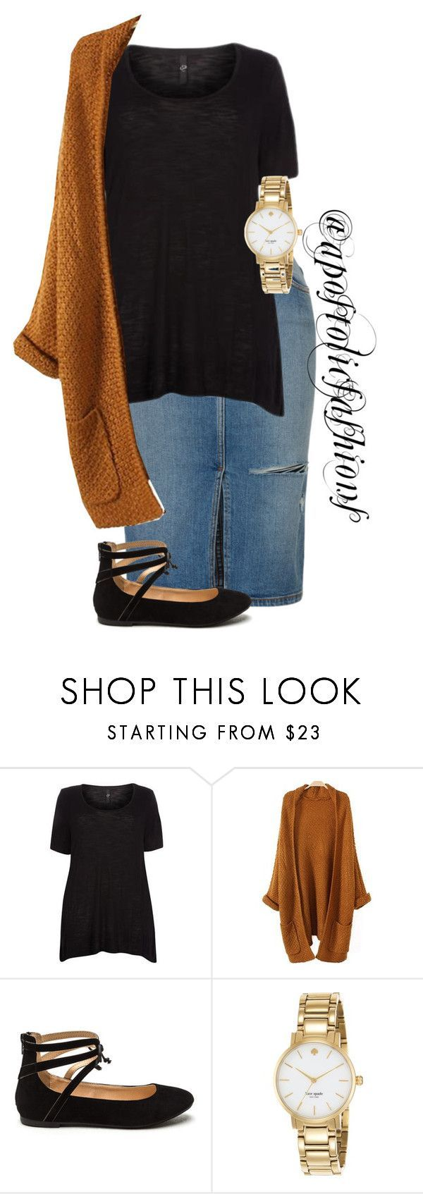 """""""Apostolic Fashions #1817"""" by apostolicfashions ❤ liked on Polyvore featuring Kate Spade"""