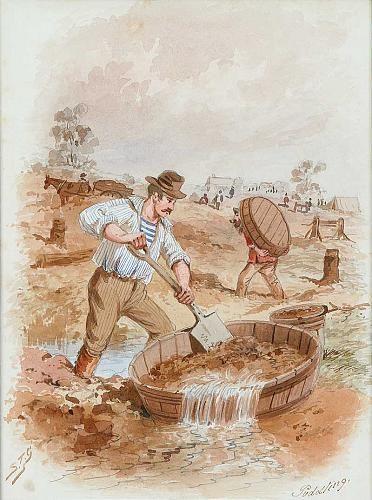Works on Paper - Samuel Thomas Gill - Australian Art Auction Records