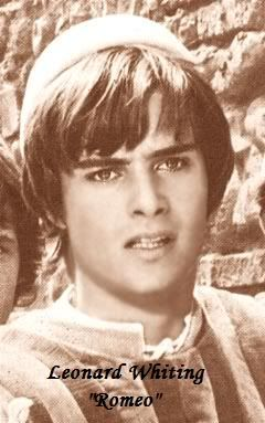 Leonard Whiting as Romeo....major life crush :-)