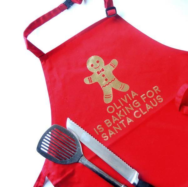 Christmas apron Gingerbread man - PetitePeople, Apron