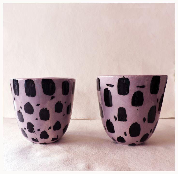 pocillo vaso ceramica artesanal pop