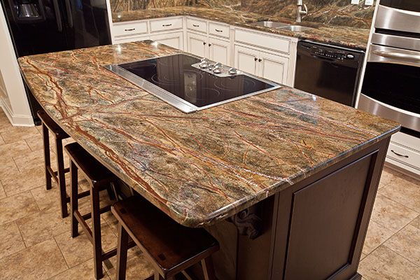 15 best images about kitchen island designs and shapes on for Granite island ideas