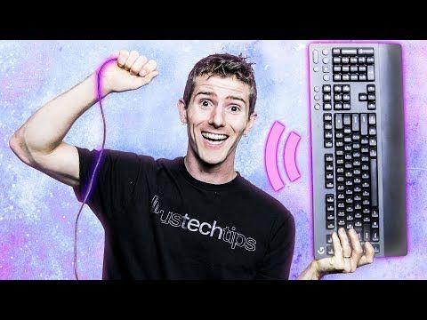 FINALLY a Wireless MECHANICAL Gaming Keyboard!  Logitech G613 Linus Tech Tips