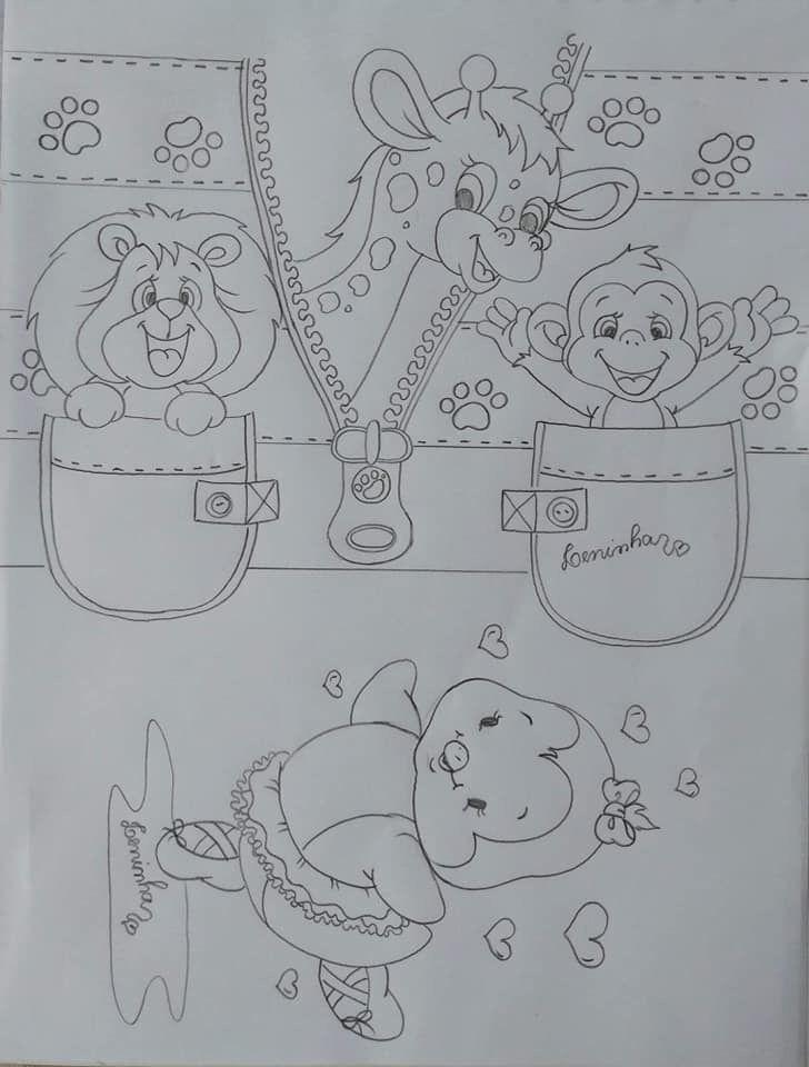 Desenhos Pintura Em Tecido Infantil Pinturas Em Tecido Fraldas
