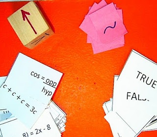 Love this blog for math activities.  The row game should be easy and fun to implement.  Some of the activities look too advanced by I'll definitely keep for future reference