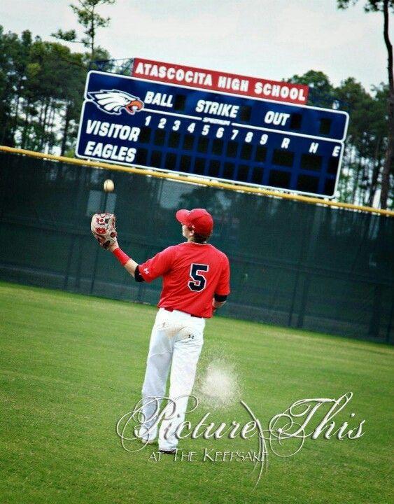 Senior pictures, baseball