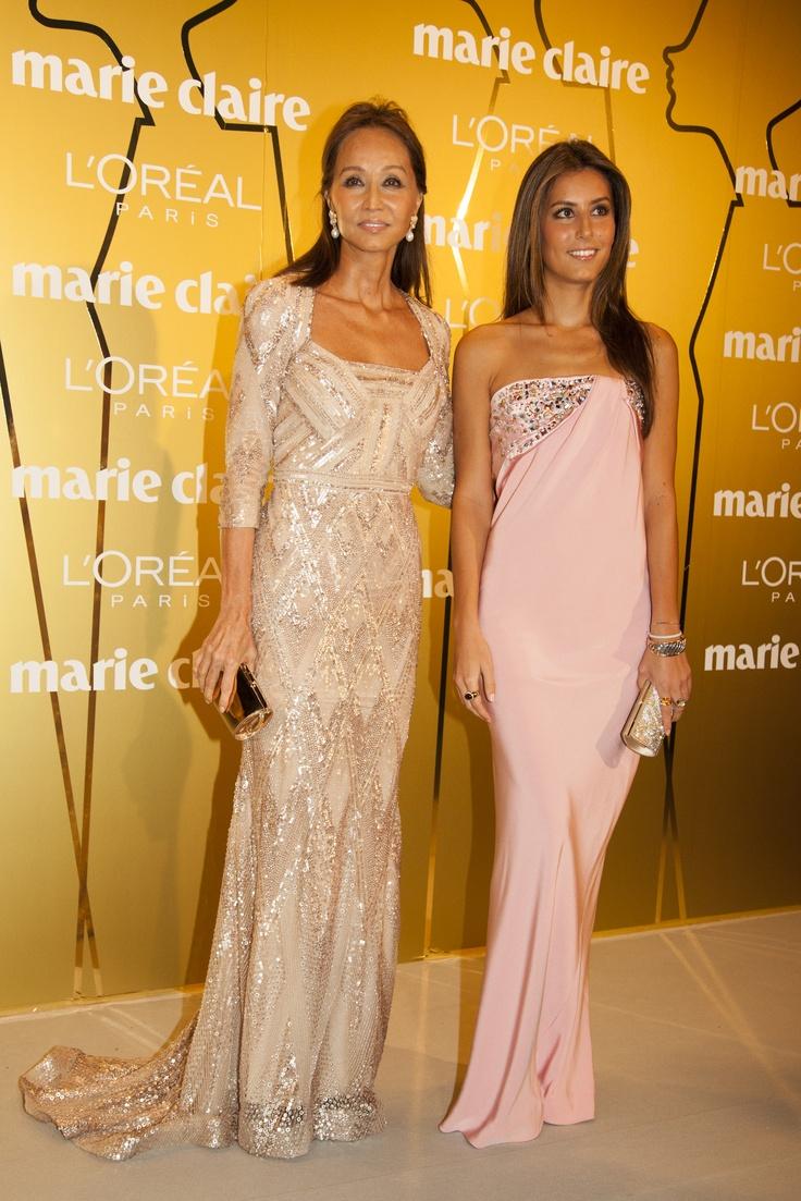 Isabel Preysler y Ana Boyer en los Prix de la Moda de Marie Claire 2012