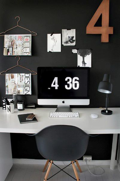 24 best Home Office Ideas images on Pinterest Desks, Office - home offices im industriellen stil