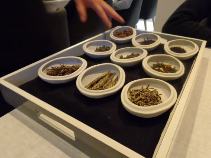 Teas @ Restaurant Atelier Amaro