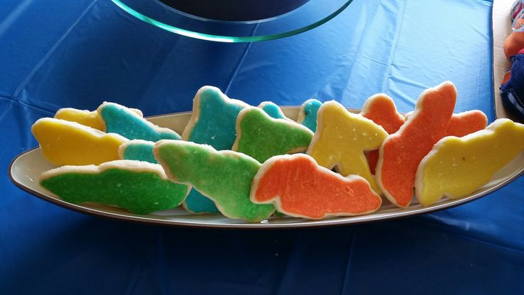 Airplane and Car Shortbread Cookies