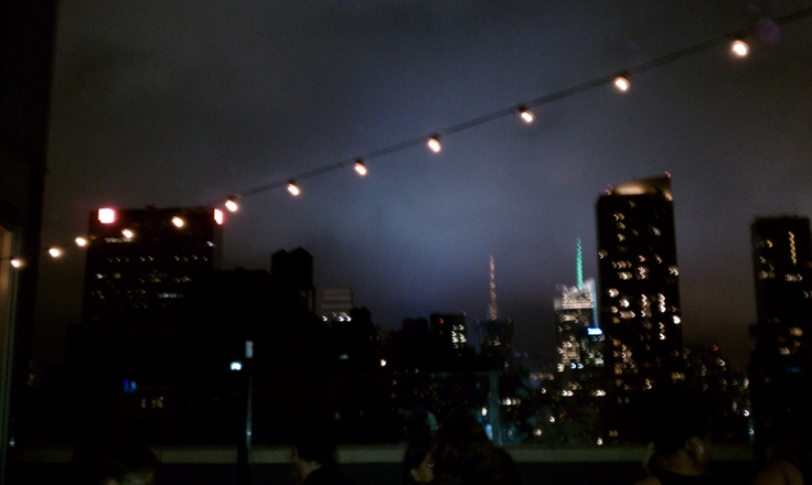 Rooftop hang out in Chelsea, NYC