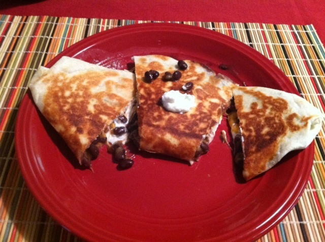 ... roast turkey and black bean quesadillas roast turkey and black bean