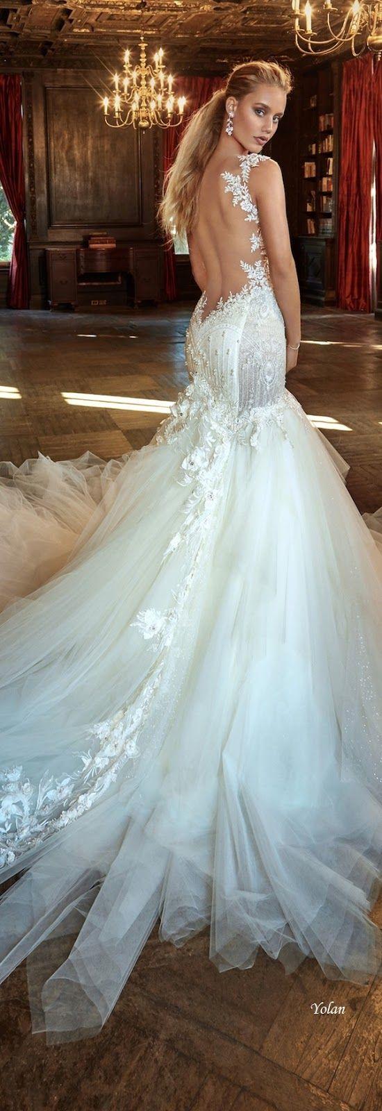Mejores 1475 imágenes de parte trasera de vestidos de novia en ...