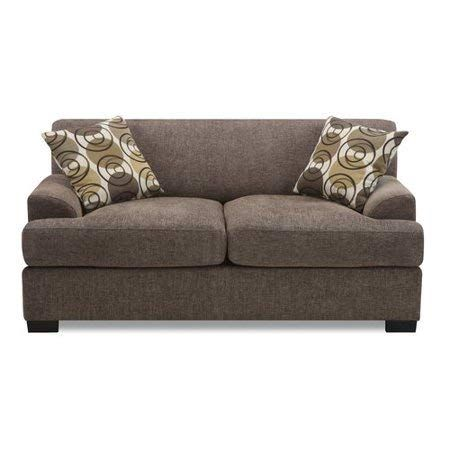 Review Chocolate Loveseat, Contemporary Style, Bundle with Ebook for