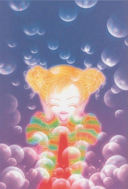 "Art from ""Gokinjo Monogatari"" series by Ai Yazawa."