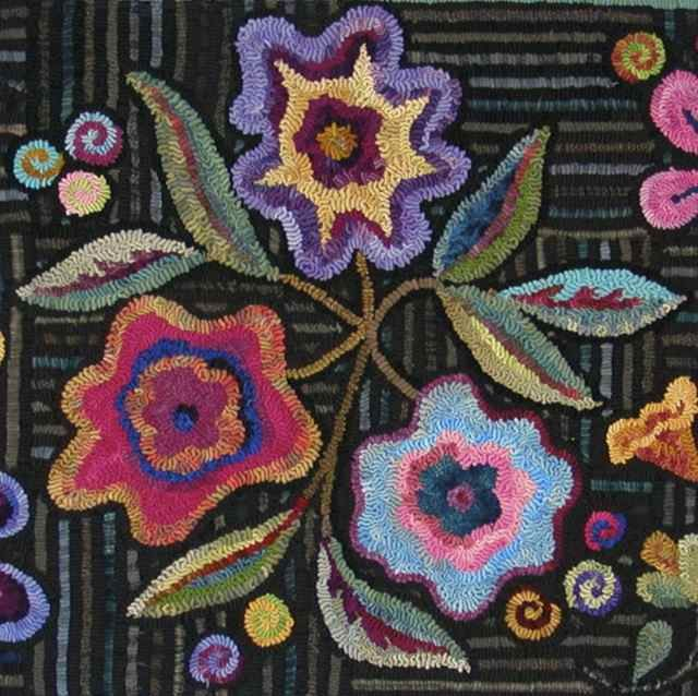 17 Best Images About Punchneedle And Rug Hooking On
