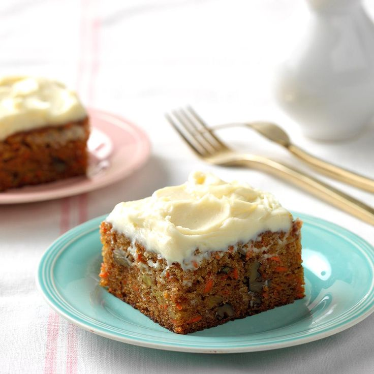 Taste of home moist carrot cake recipe