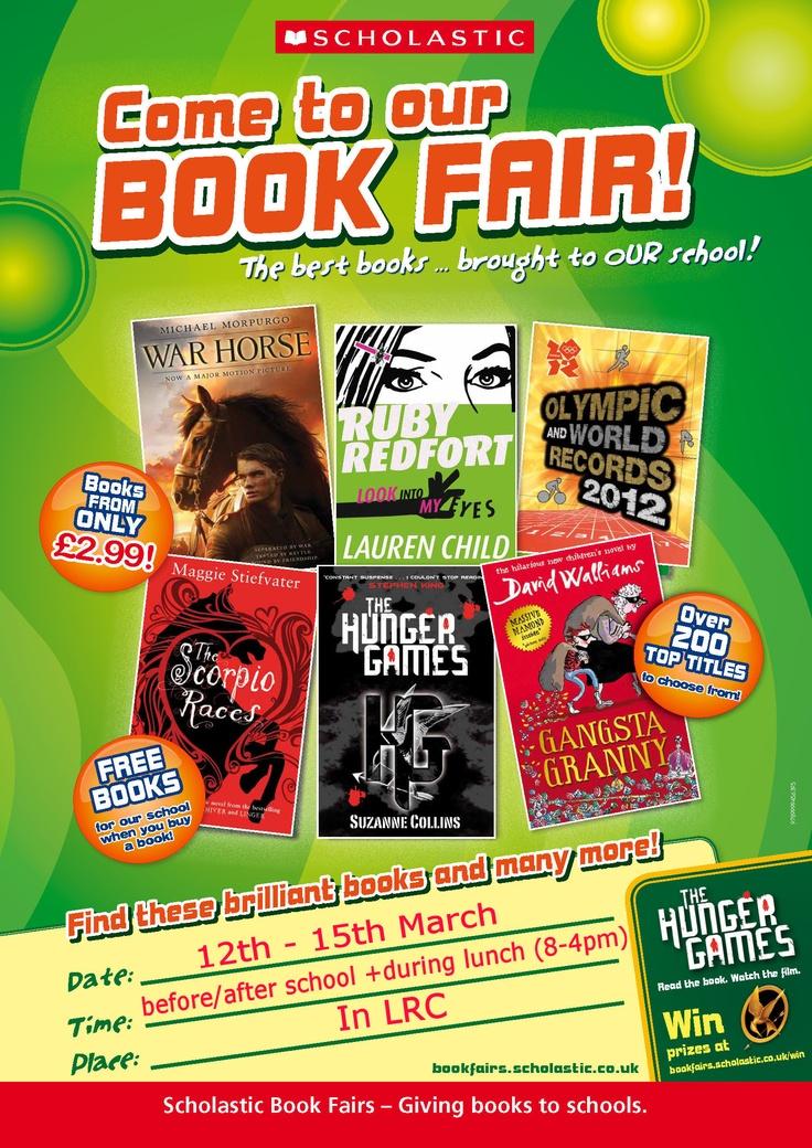 I Love Bazaar: March 2013 |Kitten Book Fair Posters