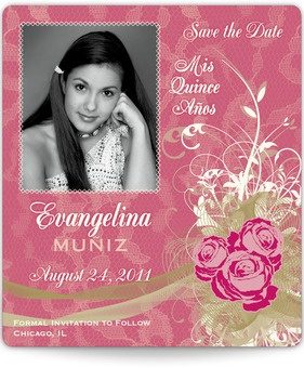 22 best Quinceanera Invitations and Save-the-Dates images on ...