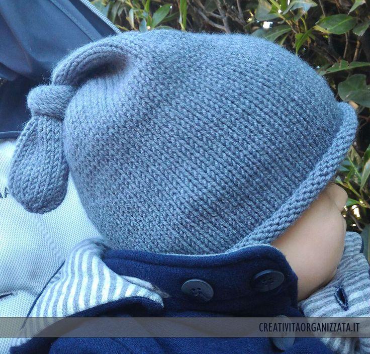 cappello indossato