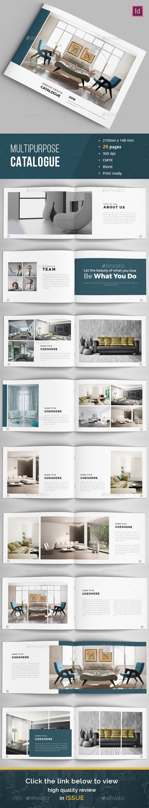 Minimal Indesign Catalogue Template InDesign INDD. Download here: http://graphicriver.net/item/minimal-indesign-catalogue/15762996?ref=ksioks