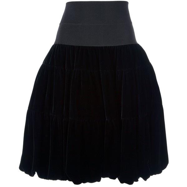 GIORGIO ARMANI Balloon skirt ($1,970) ❤ liked on Polyvore