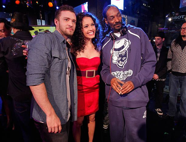 Justin Timberlake Susie Castillo And Snoop Dogg Mtv S Trl Total Finale Live November 16 2008 Justin Timberlake Snoop Dog Snoop