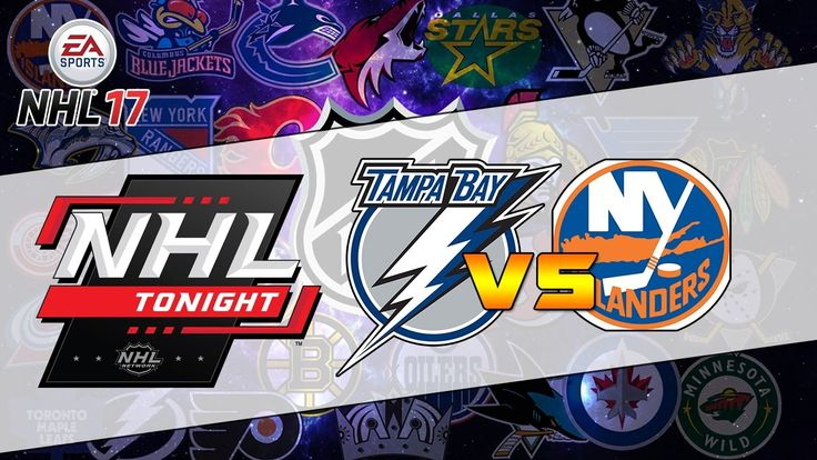 Tampa Bay Lightning vs New York Islanders|NHL Matchday Simulation|NHL 17