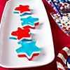4th of July Party Food Ideas- Jello: Ideas Parties Cities, July Parties, Jello Start, Cute Ideas, Food Ideas Parties, 4Th Of July, Parties Ideas, Ideas Party, Parties Food