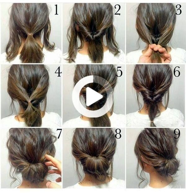 Pin By Long Simple Hairstyles On Simple Hairstyles In 2020 Thick Hair Styles Work Hairstyles Long Hair Styles
