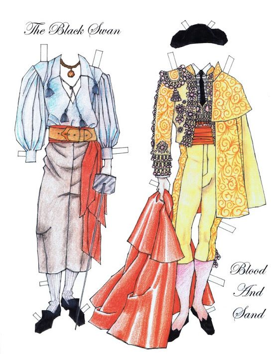 85 best Paper Dolls images on Pinterest Paper, Searching and - sample paper doll