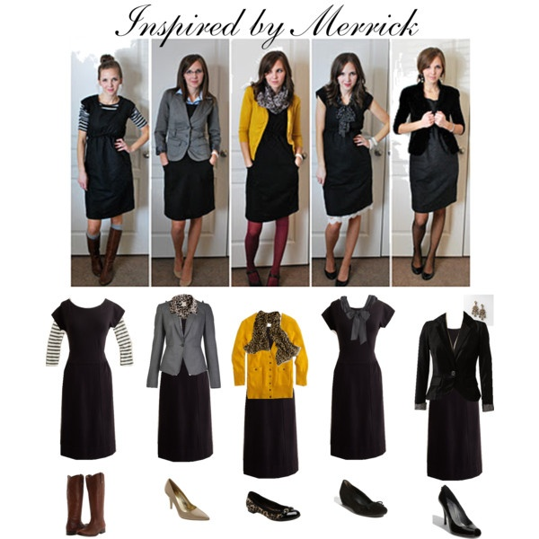 This is why every woman needs a simple LBD in her wardrobe. Such versatility!