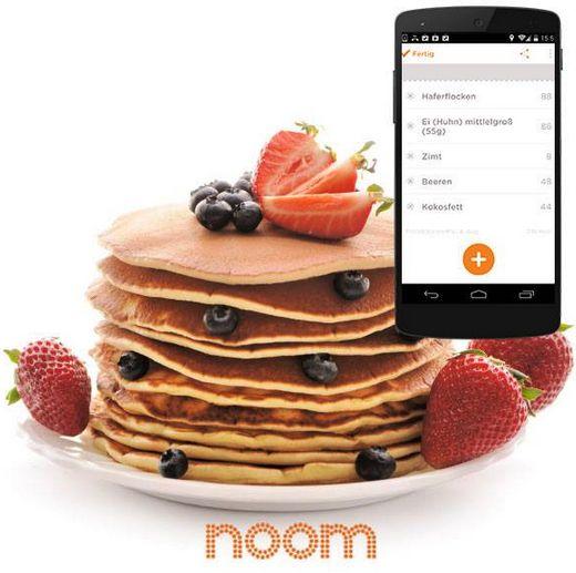 #Noom #Rezepte #Pancakes #Erdbeeren #lecker #Frühstück #Gesund http://de.noom.com/pancake-fruhstuckstraum/