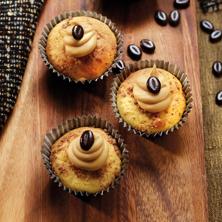 Voir la recette des muffins au café et au miel