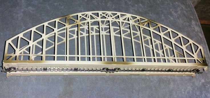 Märklin 7163, H0, Metall-Bogenbrücke, nie installiert, sehr sauber