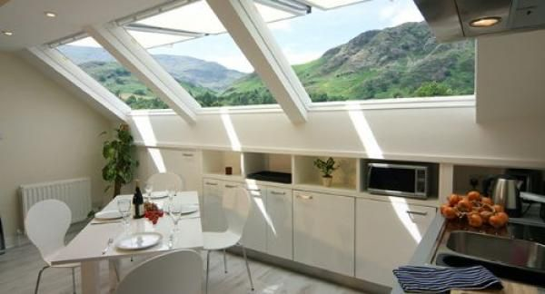 What a place to stay! Pin now check availability later. Rose Loft Apartment, Coniston. www.iknow-lakedistrict.co.uk
