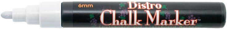 Bistro Chalk Marker 6mm Bullet Tip-White - https://tryadultcoloringbooks.com/bistro-chalk-marker-6mm-bullet-tip-white/ - #ArtSets, #ArtSupplies