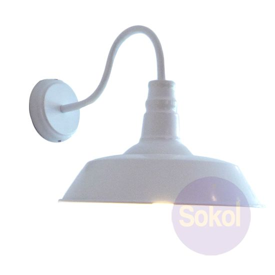 Replica Industrial Funnel Wall Lamp For Outside?