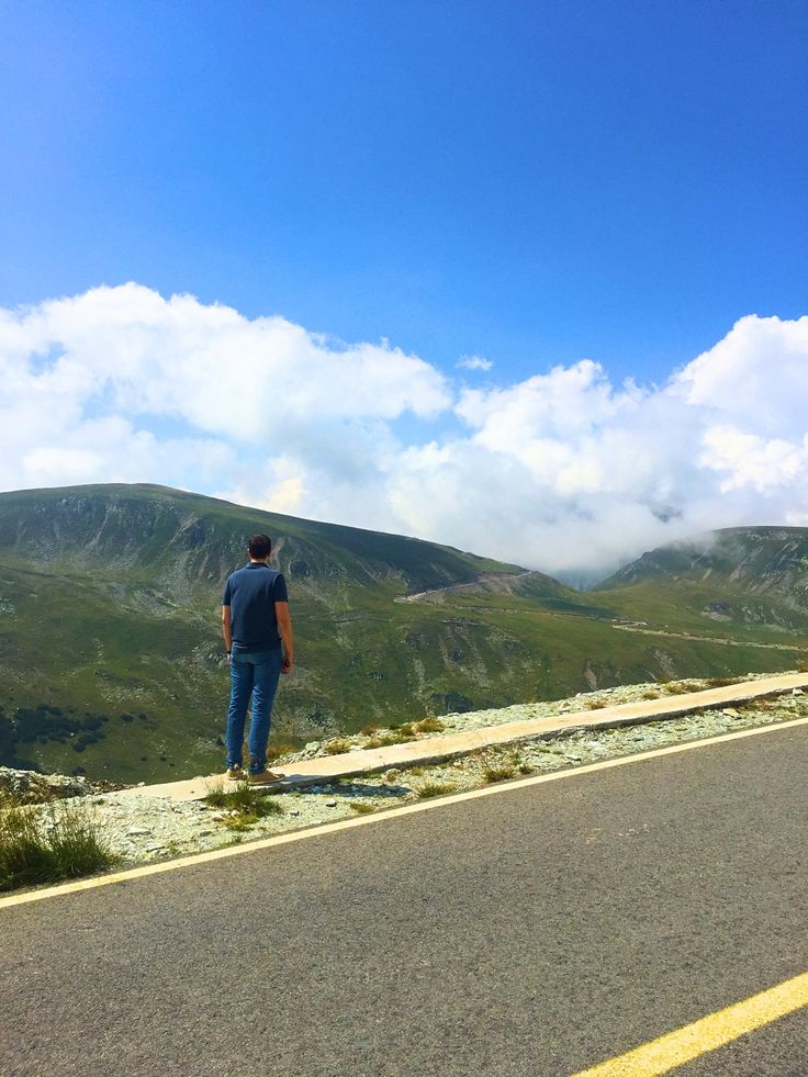 On Transalpina, the highest road in Romania, at above 2000 m altitude.