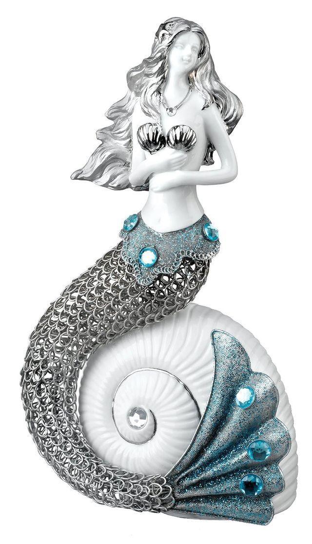 Mermaid Sea Jewel Decor Figurine