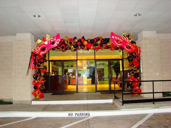 Masquerade Entrance