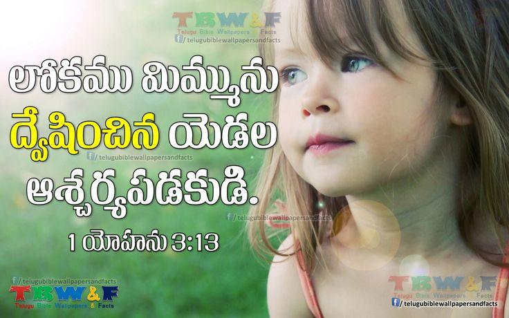 1 John 3:13