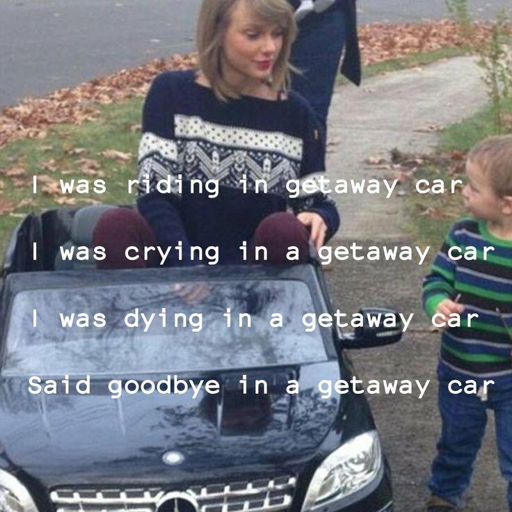 """Getaway Car"" Taylor Swift"