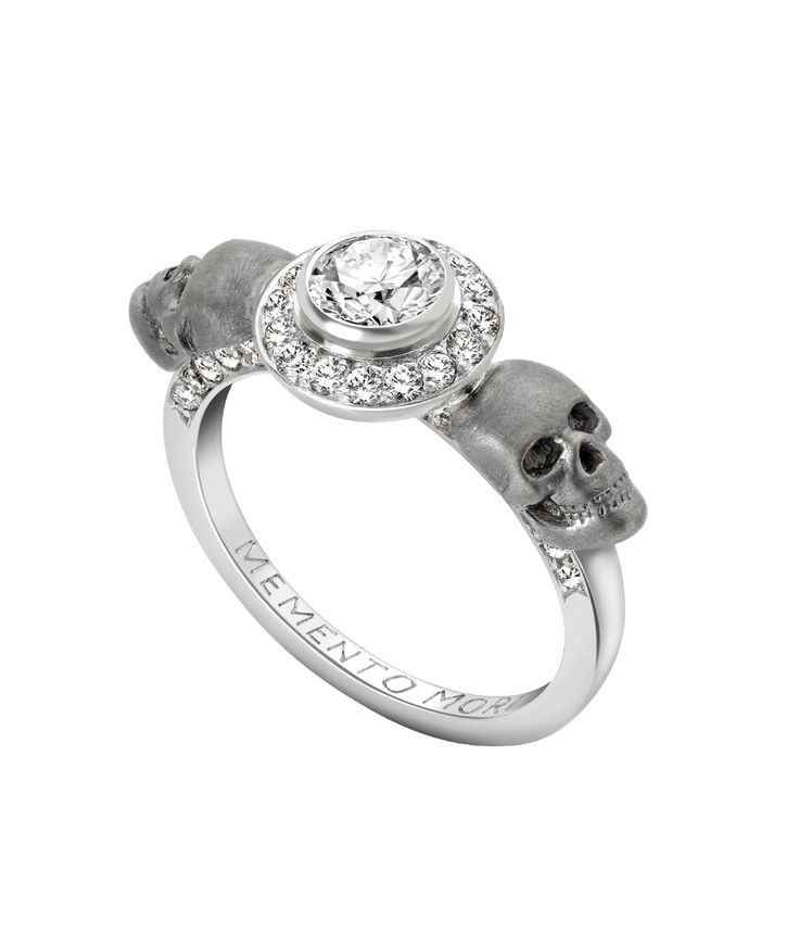 35 best images about skull engagement rings on