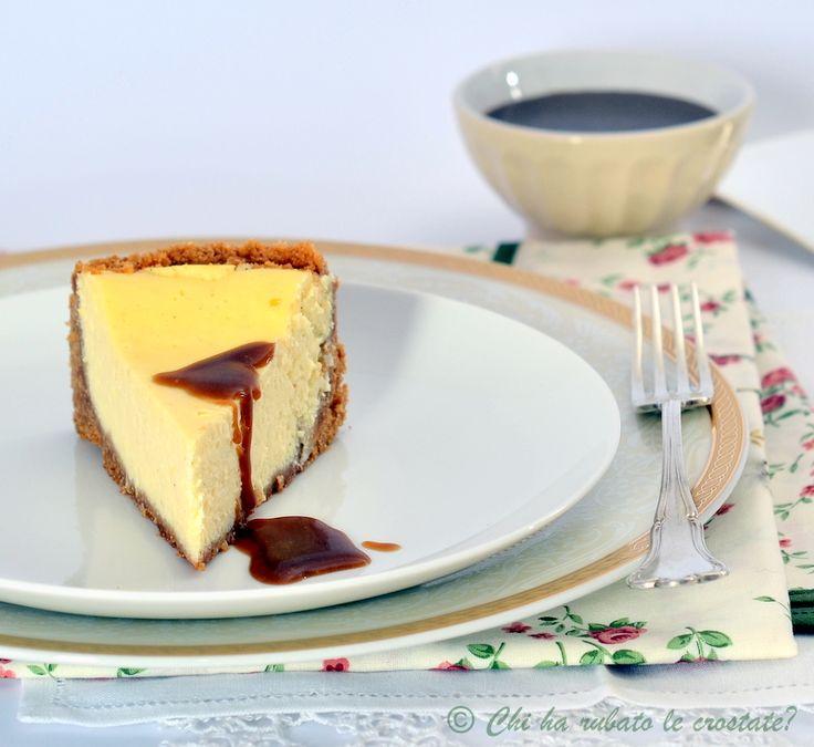 Chi ha rubato le crostate? » Blog Archive » La Cheesecake di California Bakery… con salsa mou al caramello salato.